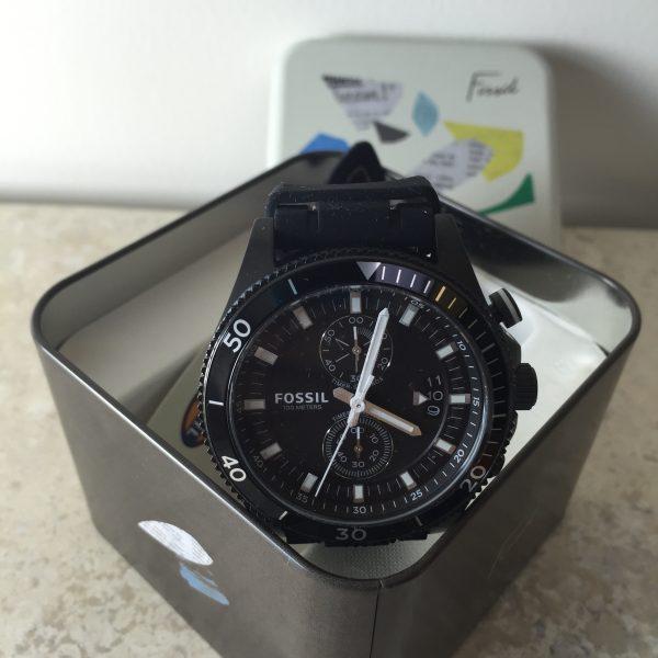 bastante agradable 3ce18 d660e Reloj Fossil negro